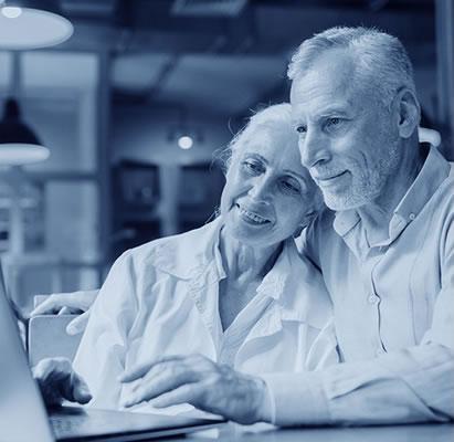 couple planning retirement