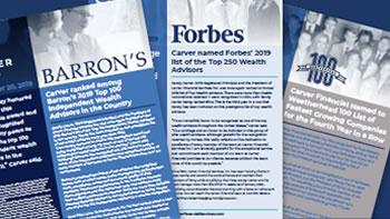 Barron's & Forbes awards