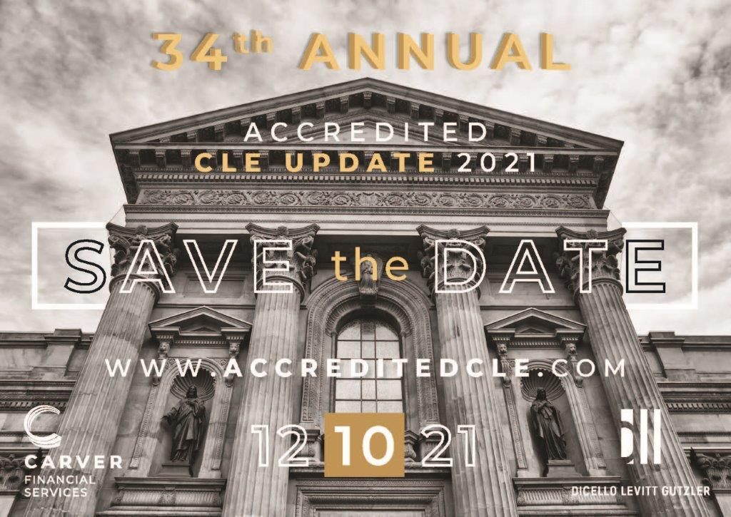 12.10.21 - 34th Annual Accredited CLE Update
