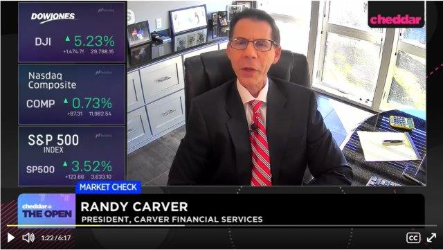 Randy Carver interviewed by Cheddar