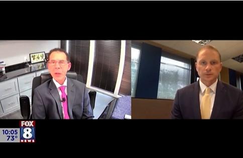 Randy Carver Interviewed by Matt Wright from Fox 8 News