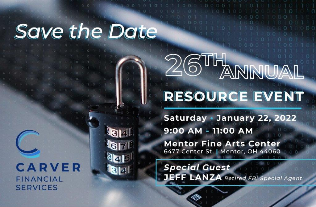 1.22.22 - 26th Annual Carver Financial Resource Event
