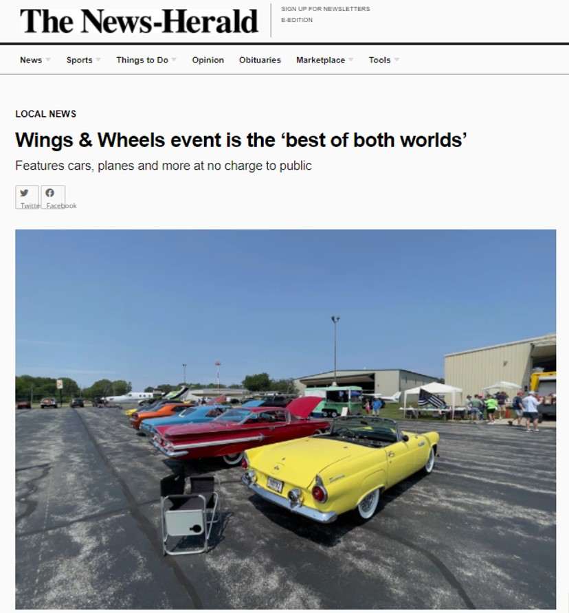 Wings & Wheels 2021 event