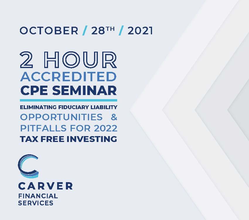 10.28.21 - Accredited CPE Seminar